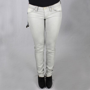 Nolita Slim Fit Skinny Jeans Röhre grau Axel Denim Grey Stretch Hose No.l.ita 9 1/4