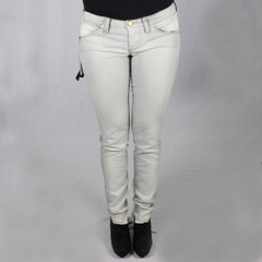 Nolita Slim Fit Skinny Jeans Röhre grau Axel Denim Grey Stretch Hose No.l.ita 9 1/4 001
