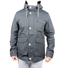 Elvine Bentley Jacke Übergang Dark grey dunkelgrau grau 151005 jacket 001