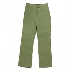 Vero Moda Stoffhose klassisch oliv grün bana turn up Gr. 34 Businesshose Hose 001