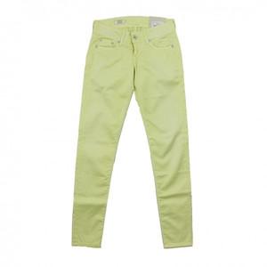 Pepe Jeans Hose SKITTLE gelb sorbet lemon PL201549U010 Slim Fit Röhre Stoffhose
