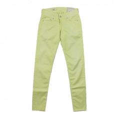 Pepe Jeans Hose SKITTLE gelb sorbet lemon PL201549U010 Slim Fit Röhre Stoffhose 001
