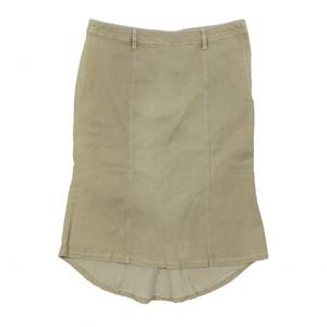 Vero Moda Jeansrock mod. BARKY TREND SKIRT sand 40 beige Wadenlang Rock 135668