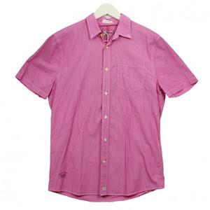 Pepe Jeans Hemd MORLEY PM300981 pink rosa M L XL Shirt Men Herren Freizeithemd