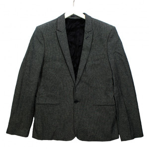 JUNK de LUXE Sakko schwarz weiß 52 54 Herren Jacket Jacke Blazer 94862-116-001