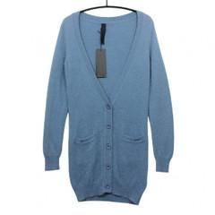 weiche lange Gestuz Strickjacke Cardigan G-MALOU-LC blau Gr. S Damen Strick Jacke 274000 001
