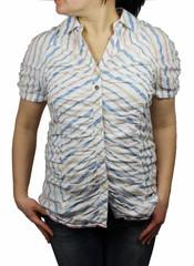 khujo kurzarm Damenbluse Mod. ASTER Bluse shirt 001