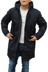 Elvine Jacke Clark dark navy akt Model Winterjacke Mantel 183 028 jacket 001