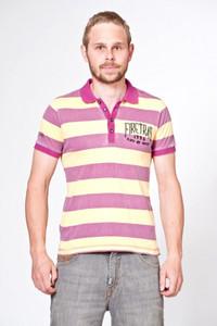FIRETRAP Sommer Polo Shirt T-Shirt Pointbreaker fushia