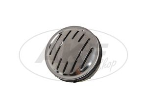 Item Image Horn 6V + 12V DC with stainless steel bezel - Simson KR51 / 1 Swallow, KR51 / 2 Swallow, SR4-1 Sparrow, SR4-2 Star, SR4-3 Sperber, SR4-4 Habicht