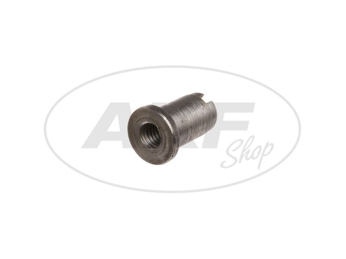 Slotted nut for shift adjustment, gearbox - Simson S51, S70, S53, S83, SR50, SR80, KR51 / 2 - Image #1