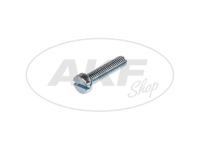 Cylinder screw, slot M6x25 - DIN84 - Image #1
