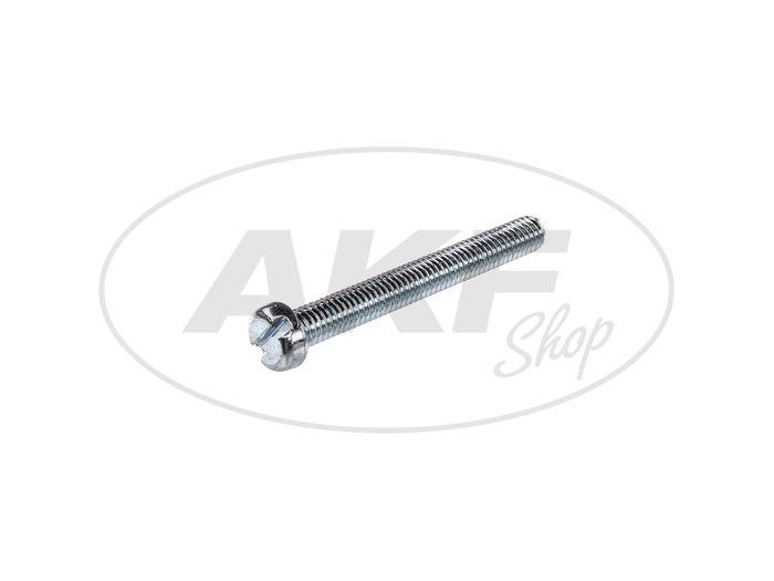 Zylinderschraube, Schlitz M6x50 - DIN84 - Bild #1