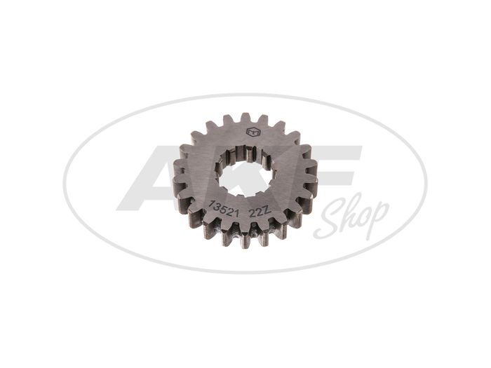 Fixed gear 22 tooth, 4th gear (5-speed gearbox) - Simson - Image #1
