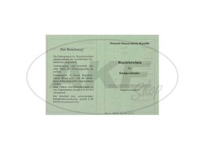 Item Image Blanco papers Simson SR1