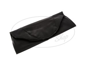 Item Image Seat cover smooth, black for short seat with SIMSON-lettering - Simson KR51 / 1 Schwalbe, SR4-2 Star
