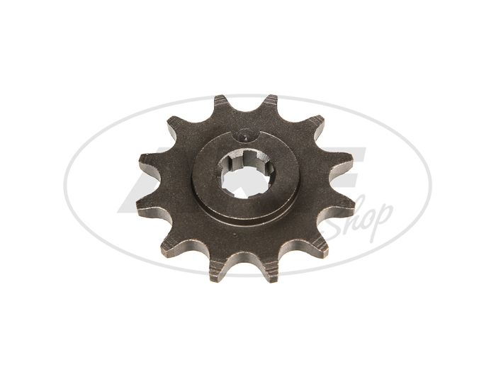 Pinion, small sprocket, 12 tooth - for Simson S50, KR51 / 1 Swallow, SR4-2 Star, SR4-3 Sperber, SR4-4 Habicht - Image #1