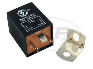 Artikelbild Blinkgeber, elektronisch, 12V 3-pol. Anschluss(31, 49, 49a), universell einsetzbar