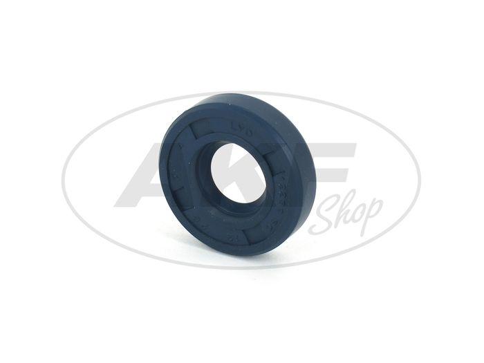 Shaft seal ring 12x28x07, blue - Simson SR4-1 Sparrow, SR1, SR2, KR50 - Image #1