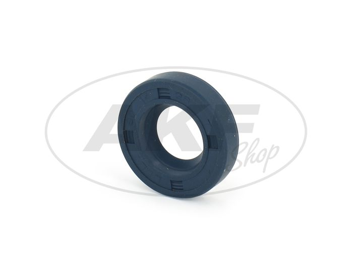 Shaft seal ring 14x28x07, blue - Simson SR4-1 Sparrow, SR1, SR2, KR50 - Image #1