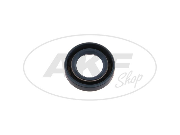 Shaft seal ring 16x28x07, blue - Simson SR4-1 Sparrow, SR1, SR2, KR50 - Image #1