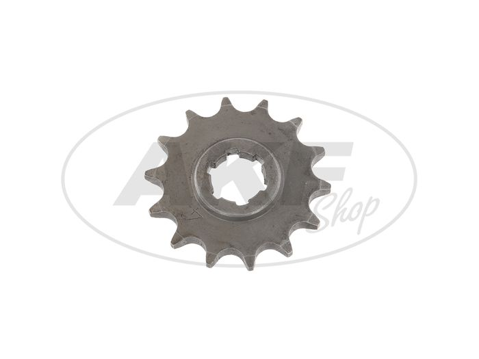 Small chain wheel, 14 tooth - for MZ ES125, ES150, TS125, TS150, RT125 - IWL SR56 Weasel - Image #1