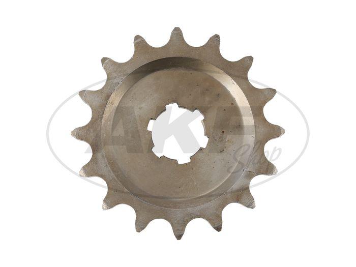 Kleines Kettenrad, 15 Zahn - für MZ ES125, ES150, TS125, TS150, RT125 - IWL SR56 Wiesel - Bild #1
