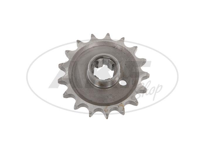 Drive Sprocket (Small Sprocket) 17 Tooth - MZ ETZ250, ETZ251, ETZ301, TS250 / 1 - Image #1