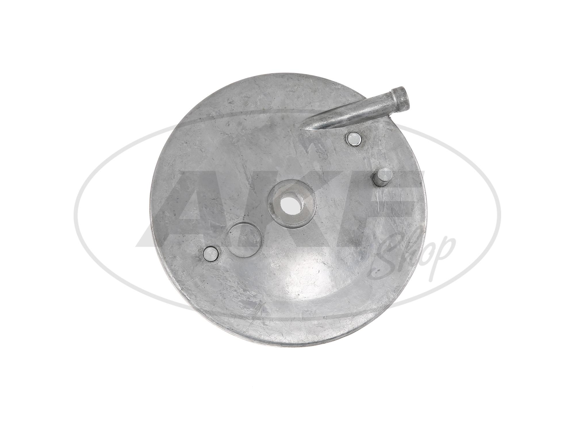 Zoom Ansicht Bremsschild - vorn für KR51/1, SR4