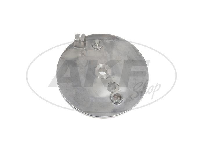 Bremsschild hinten mit Bohrung - für Simson S50, S51, S70, KR51/2 Schwalbe - Bild #1