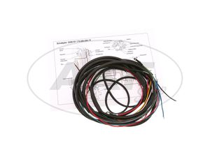 Item Image Wiring harness for RT175, RT200 (DKW) (with wiring diagram)