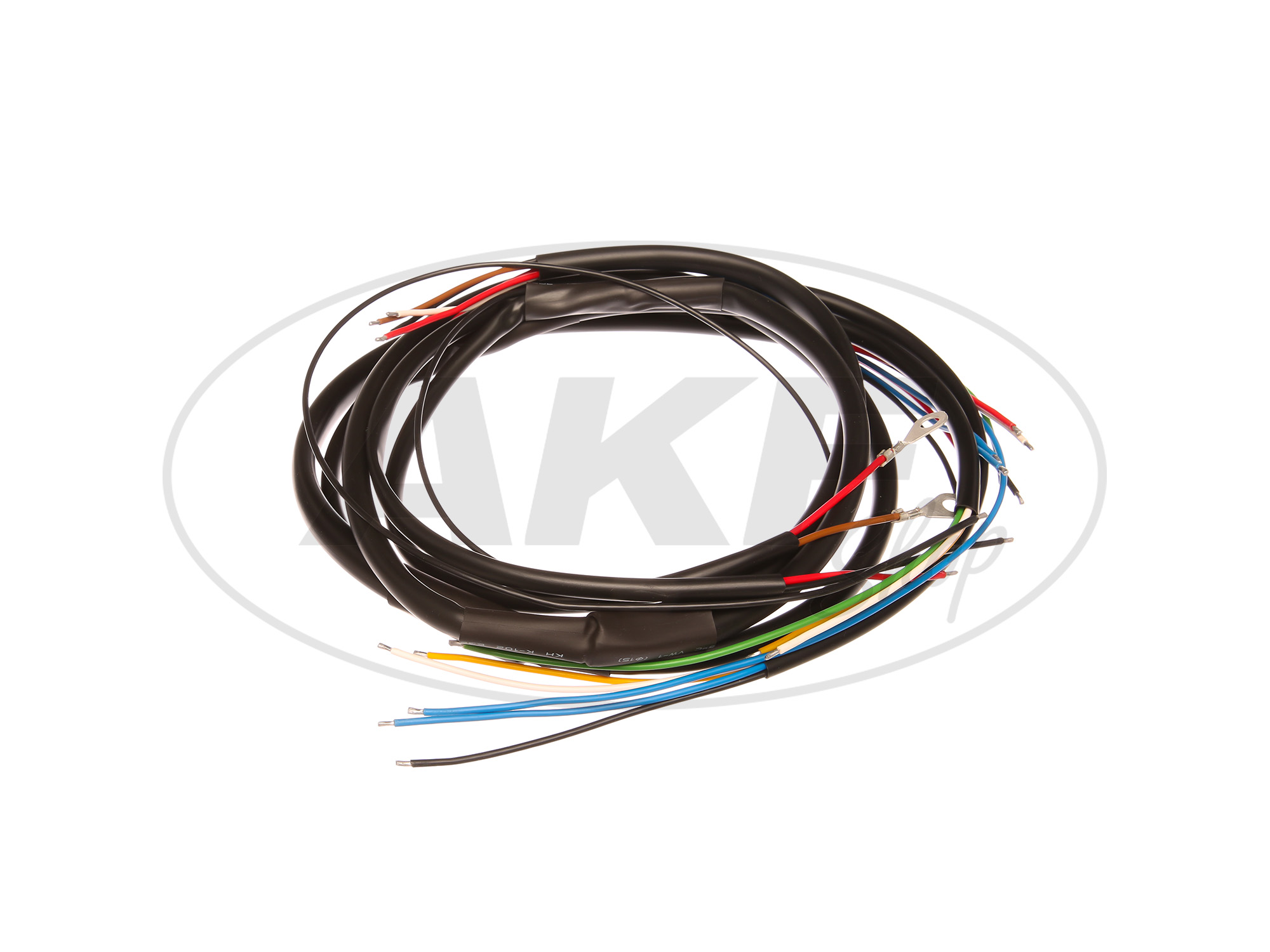 wiring harness for nz 250  350  500  dkw   with wiring diagram wiring harness zongshen 150cc atv wiring harness netting