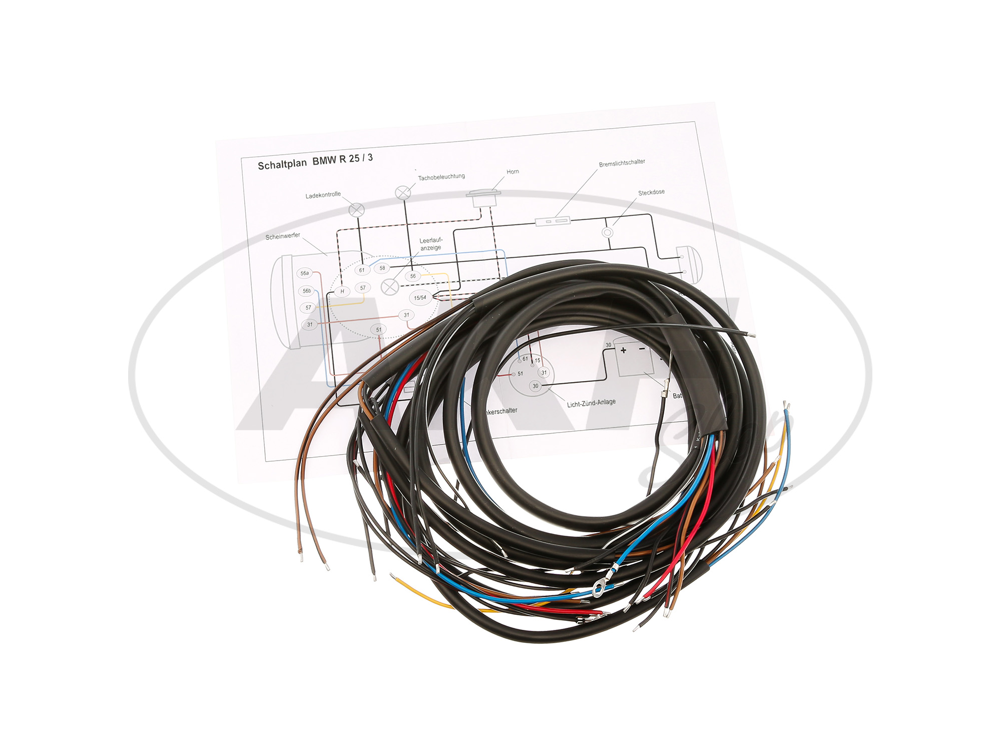 Image #1 Cable suitable for BMW R25 / 3 ...