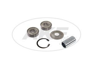 Item Image Ball bearing in set + accessories (hub front and rear - type drum brake) - for MZ ETZ125, ETZ150