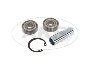 Item Image Ball bearing in set + accessories (front hub - type disc brake) ETZ125, ETZ150, ETZ250