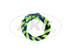 Item Image Netting rings blue / neon yellow (set 1x 25cm + 1x 30cm for bicycle)