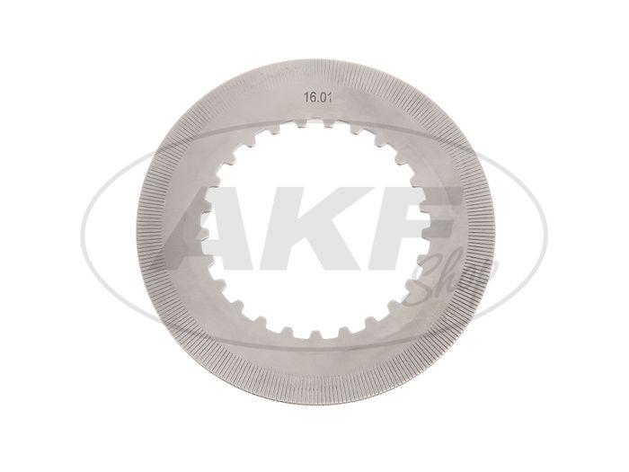 Kupplungslamelle, Stahlscheibe - für MZ ES, TS, ETZ, RT125 - Bild #1