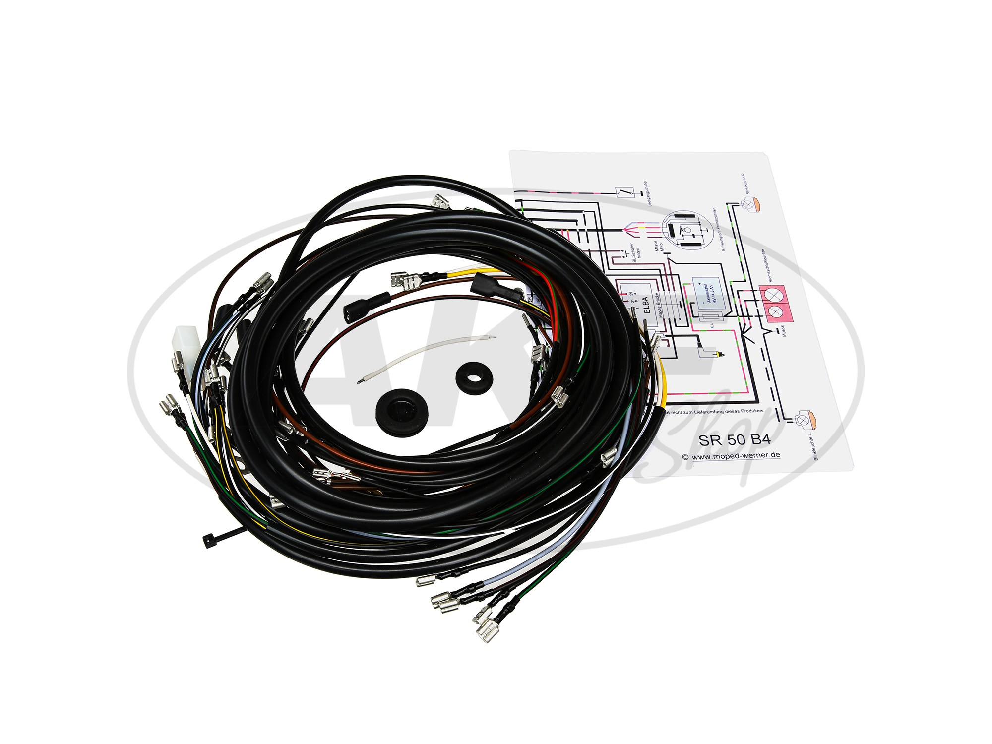 Wiring Harness Sr50 B4 6v Circuit Breaker With Diagram Image 1