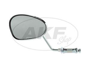 Item Image Mirror left, handlebar mounting, short bar