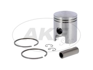 Item Image Piston for cylinder Ø53,00 - for MZ TS125, ES125, ETS125 - RT125 (15 piston pin)