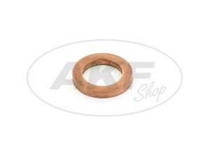 Item Image Sealing ring Ø 6x10 DIN 7603, copper