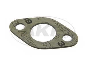 Item Image Seal to the carburetor flange - 2 mm thick, ø 25 mm pass. For AWO 425T - (brand: PLASTANZA / material AMF 39)