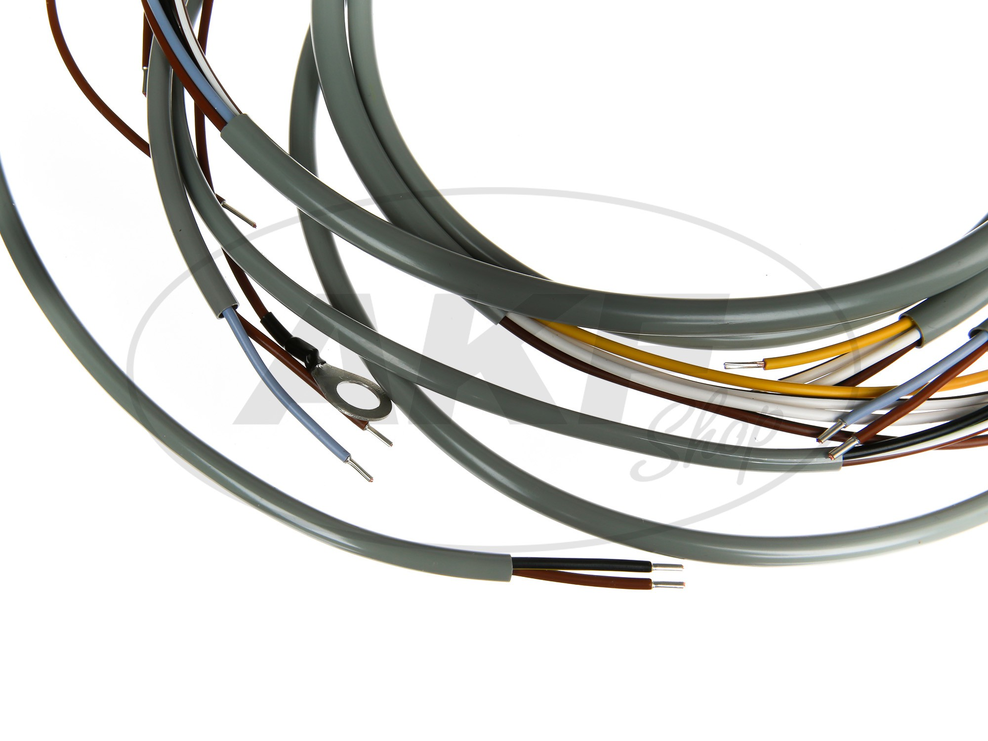 Wiring Harness Sr2 With Ground Direct Current Gray Incl Image 2