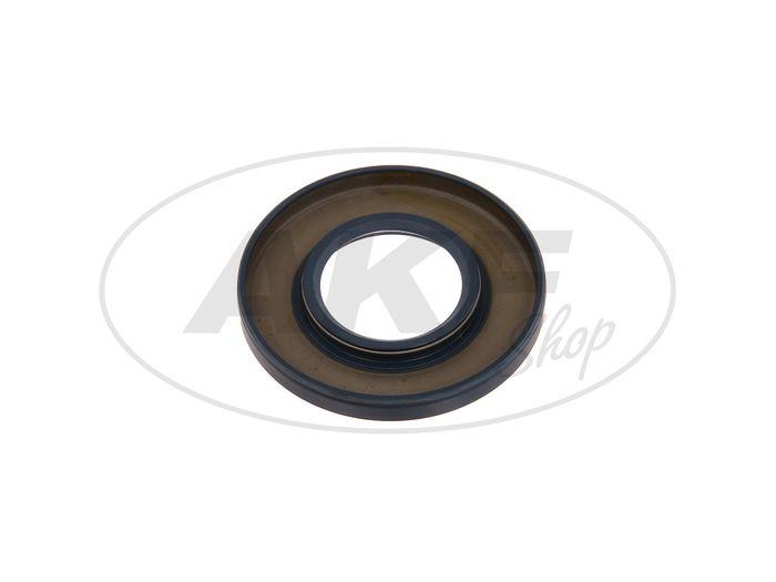 Shaft seal ring 30x62x07, blue - MZ TS250, ES250 - Image #1