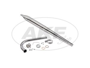 Item Image Exhaust set-pot can be dismantled L = 660mm, with manifold-SET 320 lg, KR50