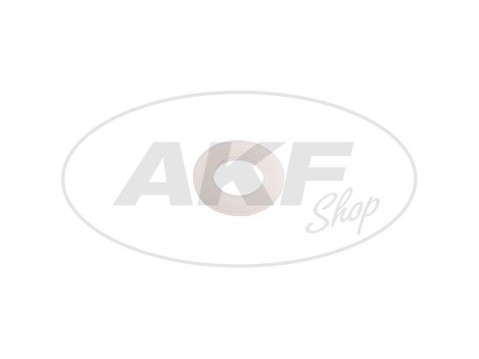 Scheibe Emico 5,3x10x1 - helle Plastikscheibe - Bild #1