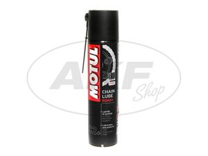 Item Image MOTUL chain spray white, Chain Lube Road Plus, special used in motorhomes and motorbikes, 400ml spray can