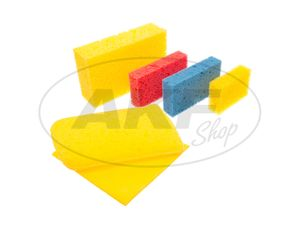 Item Image Procycle washing set with 6 different sponges