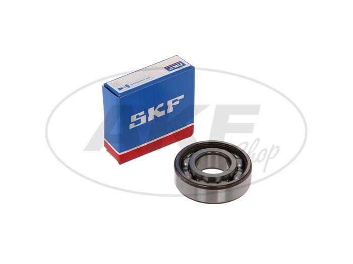 Ball bearing 6204 C3 P63, crankshaft left / right - Simson S51, S70, S53, S83, KR51 / 2 Schwalbe, SR50, SR80 - Image #1