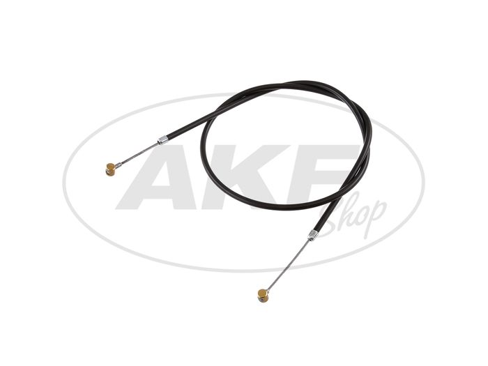 Brake cable front, black, half hub - RT125 / 0, RT125 / 1, RT125 / 2 - Image #1